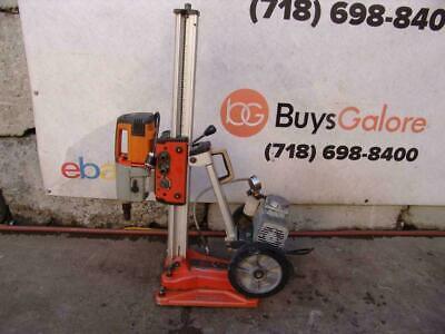 Husqvarna DS-450 Core Drill Rig with Vacuum Pump  Works Fine