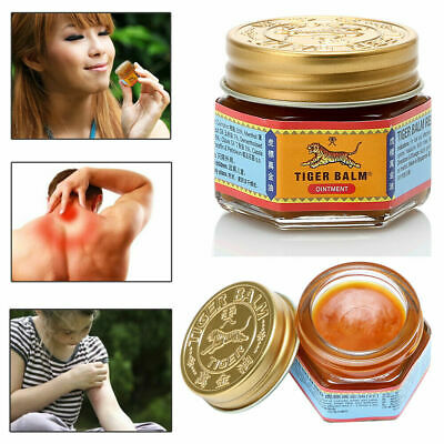 19g Tiger Balm Red Thai Herb Ointment Aches Pains Relief Massage Rub F6