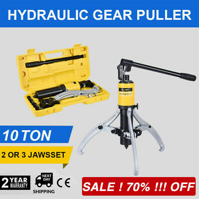 3in1 Hydraulic Gear Puller Pumps Oil Tube 3 Jaws Drawing Machine 10T 【70% OFF】