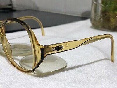 Christian Dior Optyl Sunglasses Retro/vintage Prescription Lenses Germany 53[]17
