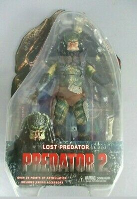 Neca Predator 2 Lost Predator Figure Genuine Unmasked Series 6 1St Ed New Sealed