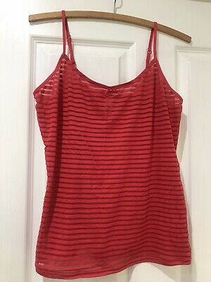 Ladirs Intimo Size 16 Red Camisole