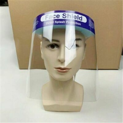 Safety Face Shield With Clear Full Face Transparent Work Industry Dental Medical
