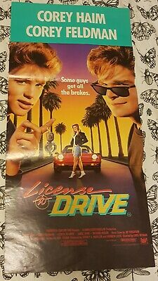 License To Drive Daybill Movie Poster