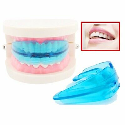 Dental Orthodontic Alignment Braces Retrainer Appliance Oral Hygiene Blue&Clear