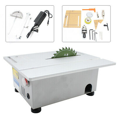 T5 Mini Precision Table Saw Handmade Woodworking Bench DIY Bench Cutter 7000RPM