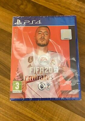 **Sealed** Fifa 20 Game For Ps4 Brand New Fifa20 Uk Stock Pegi For Playstation 4
