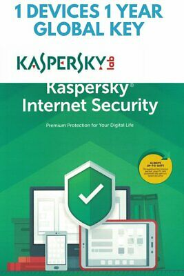 Kaspersky Internet Security 1 PC 1 YEARS GLOBAL KEY