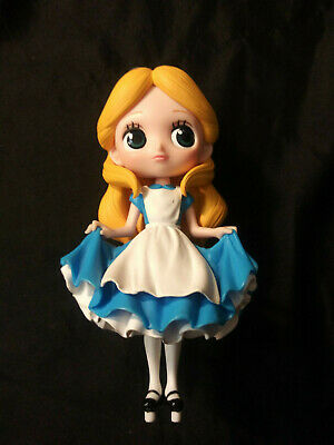 Disney Alice in Wonderland Q Posket Figure Limited Edition toy Action rare