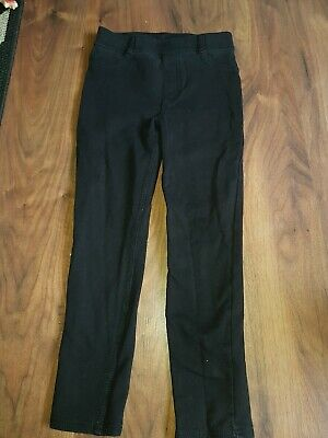 H&M girls black Trousers Size 7-8 Years