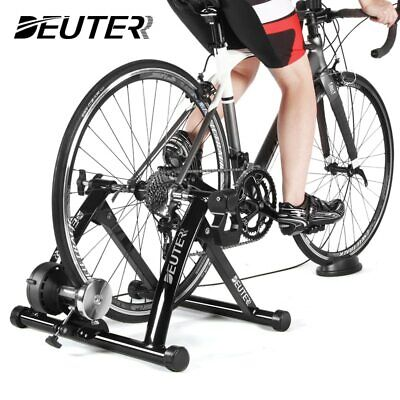 Indoor Exercise Bike Trainer Home Training 6 Speed Magnetic Resistance Bicycle