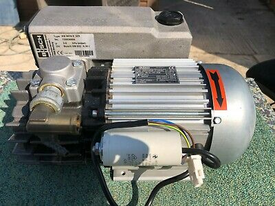 BUSCH KB016M3/hr  E OIL LUBRICATED ROTARY VANE Vacuum PUMP 240V