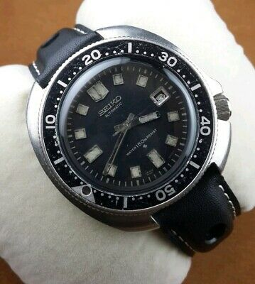 Authentic Seiko 6105-8110 divers automatic men's Japan wrist watch.. Ultra rare