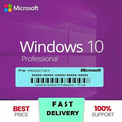 Windows 10 Pro🔥Professional ⚡Genuine License Key 🔑 Instant Delivery 📩🔥🔥