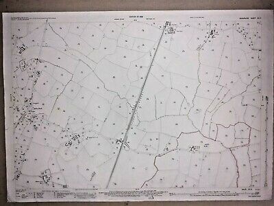 Old Antique Ordnance Map 1926 Shropshire XIV.8 Quina Brook & Prees Station ...
