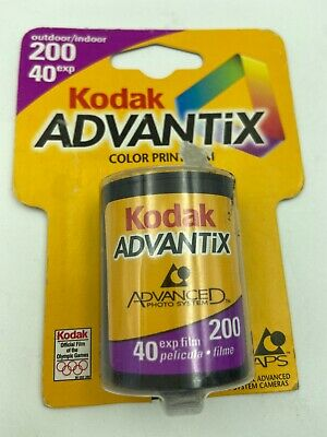 Kodak Advantix 200 COLOR PRINT FILM - Expired