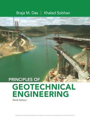 (P.D.F ) Principles of Geotechnical Engineering ⚡ 9th Edition ⚡Fast Delivery⚡