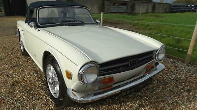 1974 Triumph TR6 MANUAL WITH OVERDRIVE Convertible Petrol Manual