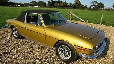 1976 Triumph Stag MANUAL Cabriolet Petrol Manual