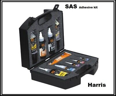 S.A.S Adhesive & Sealant Engineer's Kit | Supper Glue | Thread nut Lock | 10 Pcs
