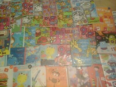 39 Kids Every Day Cards, Wholesale Joblot Greeting Cards
