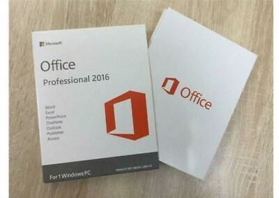 Microsoft Office 2016 Professional Plus Product Key - Works Worldwide