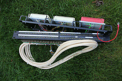 Patch bay and Krone blocks