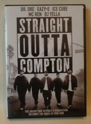 STRAIGHT OUTTA COMPTON, DVD, DR. DRE, ICE CUBE, g