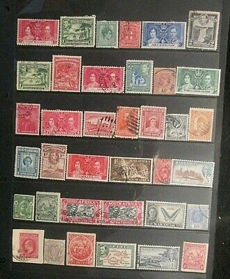 BRITISH EMPIRE  QV.-KGVI mixed mint and used lot 15