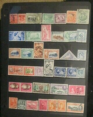 BRITISH EMPIRE  QV.-KGVI mixed mint and used lot 17