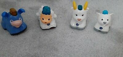 Vtech Toot Toot Animals Bundle Donkey, Sheep, Goat with kid.