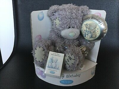 Me To You Tatty Happy Birthday Bear With Miniature Story Book