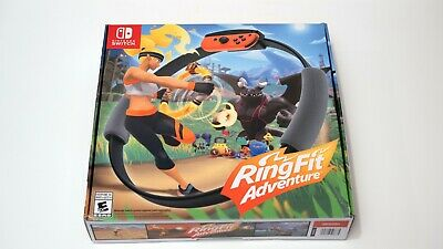 Ring Fit Adventure -- Nintendo Switch ***GREAT CONDITION***