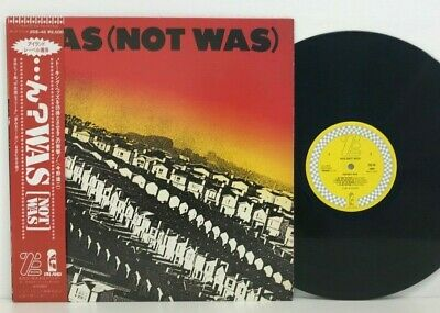 Was (Not Was) ‎– S/T LP 1982 Japan ZE Records Electronic Jazz Rock Funk w/ obi