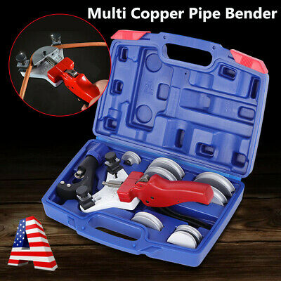 WK-666 Multi Copper Pipe Bending Tool Manual Aluminum Tube Bender Tool Kit 5-12m