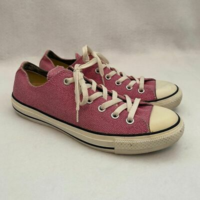 Converse All Star Pink Low Top Sneakers