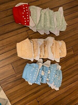 fuzzibunz cloth diapers - Small (lot of 20)