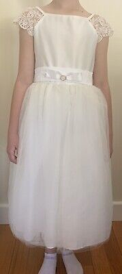 Ivory Flowergurl/communion Dress