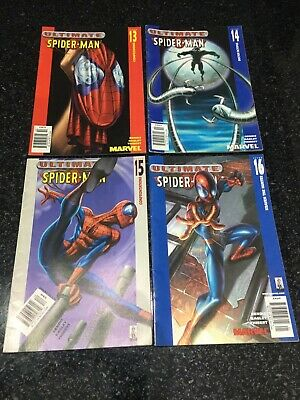 Ultimate Spider-Man Comics x4 13-16 VGC