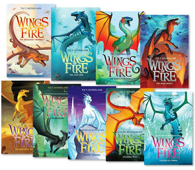 Wings of Fire 1-13 Books Set By Tui T. Sutherland Audiobook