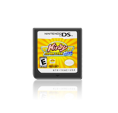 Kirby:Super Star Ultra  (Nintendo DS) für DS 3DS NDSi NDS Game Card Videospiele