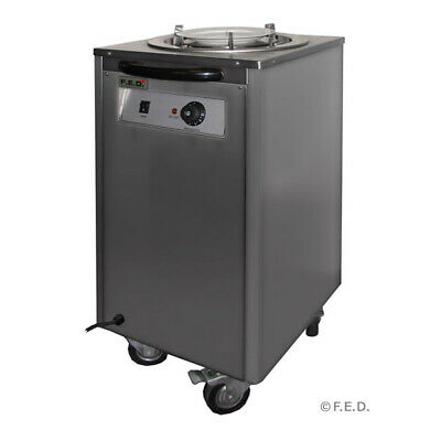 Single Mobile Plate Lowerator - F.E.D Warming Carts and Lowerators