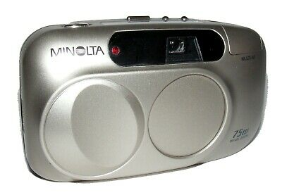 MINOLTA 75w RIVA ZOOM 35mm FILM CAMERA