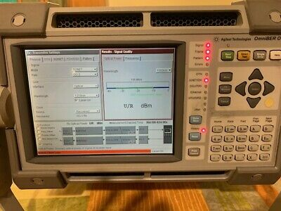 AGILENT J7230A OmniBER OTN 10 Gb/s Communications Performance Analyzer