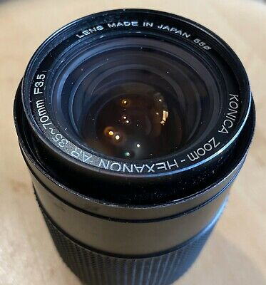 Konica Zoom Hexanon AR 35~70mm F3.5 Lens Untested