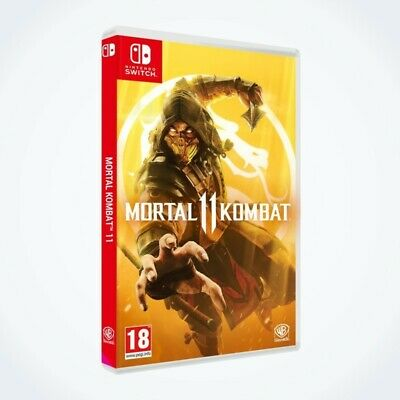 Mortal Kombat 11 sur Nintendo SWITCH / Neuf / Sous Blister / Version FR