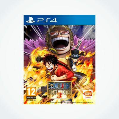 ONE PIECE : Pirate Warriors 3 sur PS4 / Neuf / Sous Blister / Version FR