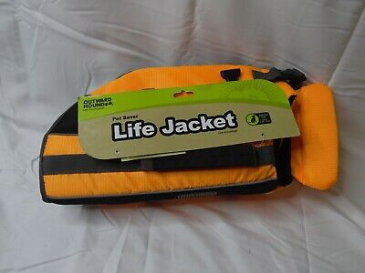 Pet Saver Life Jacket Dogs  Extra Small Fully Adjustable Straps OutwardHound
