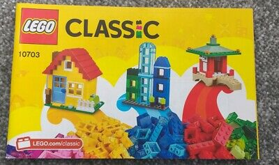 Lego Instruction Book only Set 10703 Creative Builder Box