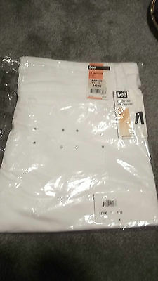 Lee lower on the Waist Stretch Midrise Skimmer  SZ 14 NWT $40 White